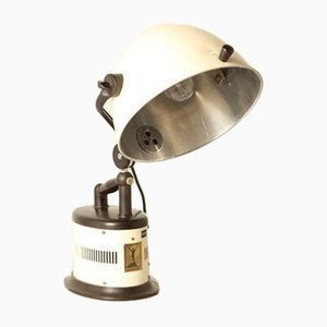 Vintage White Steel Hanau Lamp