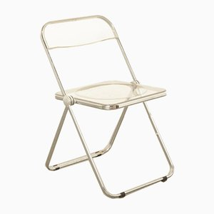 Plia Folding Chair by Giancarlo Piretti for Castelli, Italy, 1960s
