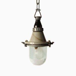 Vintage Industrial Gray Pendant Lamp
