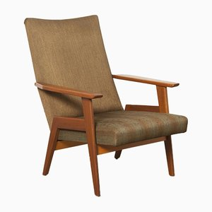 Vintage Brown High Armchair