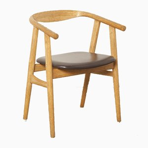 Vintage Beistellstuhl von Hans J. Wegner für Getama