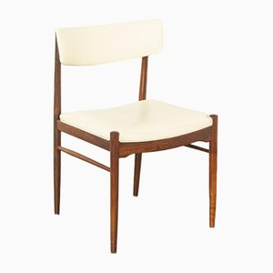 Cream Skai Side Chair from TopForm, 1960s