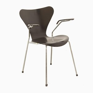 Black Butterfly Armchair by Arne Jacobsen for Fritz Hansen, 2000s