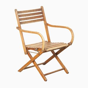 Bauhaus Folding Chair from Naether, Germany, 1930s