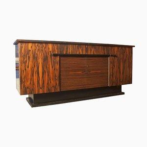 Buffet Art Deco in legno zebrano di Pander