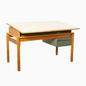 Vintage Drafting Table from Ahrend De Cirkel
