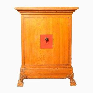 Vintage Safe mit Holzoptik