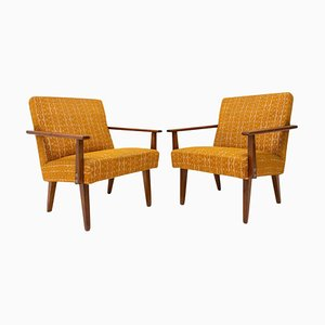 Mid-Century Czechoslovakian Armchairs by Frantisek Jirak for Tatra, 1960s, Set of 2