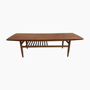 Table Basse Vintage en Teck par Grete Jalk, Danemark