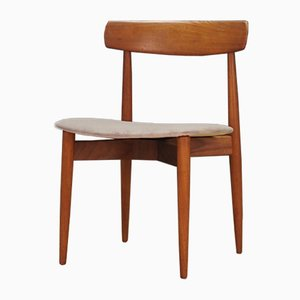 Dänische Mid-Century Esszimmerstühle von HW Klein, 1960er, 4er Set
