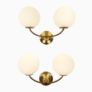 Swiss Sconces by Max Bill for Temde, 1960s, Set of 2
