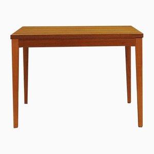 Mid-Century Danish Teak Veneer Desk, 1970s