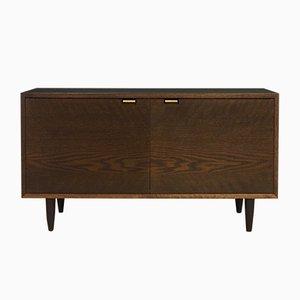 Mid-Century Danish Oak Veneer Cabinet, 1970s
