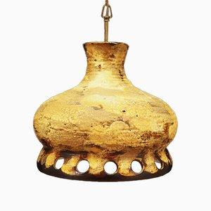 Mid-Century Keramik Deckenlampe, 1970er