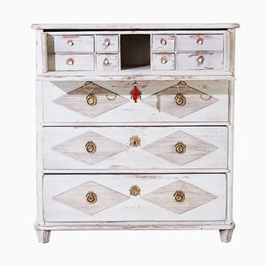 Gustavian Chest of Drawers with Secretaire