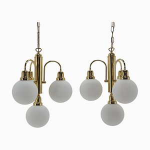 Mid-Century Chandeliers, 1960s, Set of 2