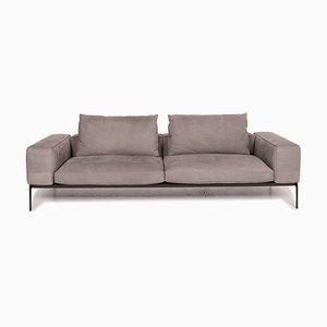 Graues Lifeleel 3-Sitzer Sofa von Flexform