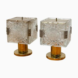 Table Lamps from Kamenicky Senov, 1970s, Set of 2
