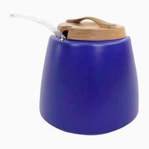 Blue Sugar Pot