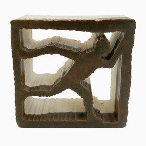 Keramik Running Man Skulptur von Alessio Tasca, 1960er