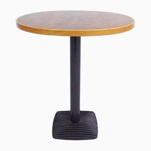 Oval Burl Wood Model Artona Side Table by Afra & Tobia Scarpa for Maxalto, 1970s