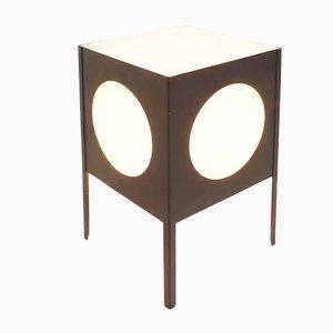 Runde Vintage Tisch- oder Stehlampe