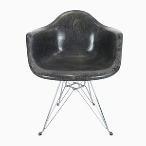 DAR Armchair with Eiffel Tower Base by Charles & Ray Eames for Miller Furniture, 1950s