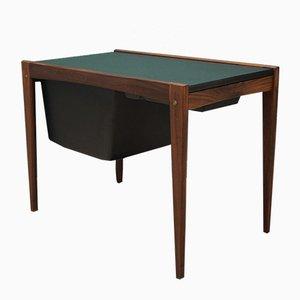 Mid-Century Danish Teak Sewing Table, 1960s