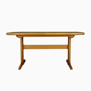 Mid-Century Ash Veneer Dining Table from Skovby, 1960s