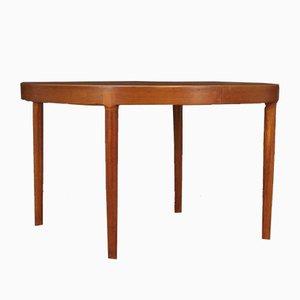 Teak Veneer Dining Table by Harry Østergaard for Randers Møbelfabrik, 1960s