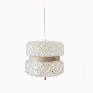Glass Pendant Lamp from Astrolux Wien, 1960s
