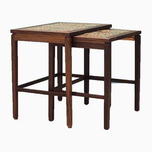 Mid-Century Danish Teak Nesting Tables, 1960s, Set of 2