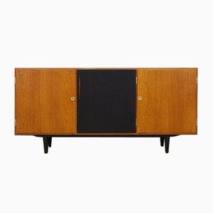 Dänisches Vintage Teak Furnier Sideboard, 1960er
