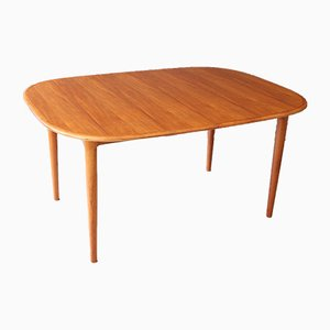 Mid-Century Danish Teak Dining Table from Skovmand & Andersen, 1960s