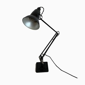 Black Lacquered Anglepoise Table Lamp by George Carwardine, 1960s