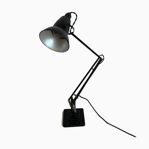 Schwarz lackierte Anglepoise Tischlampe von George Carwardine, 1960er