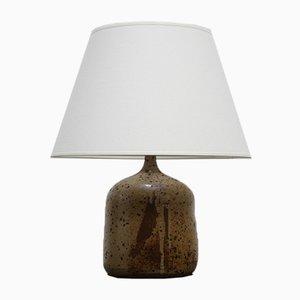 Stoneware Ceramic Table Lamp from La Borne, 1970s