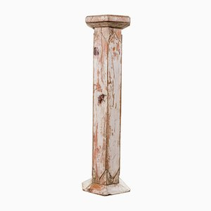 Antique 19th Century Italian Wooden Column
