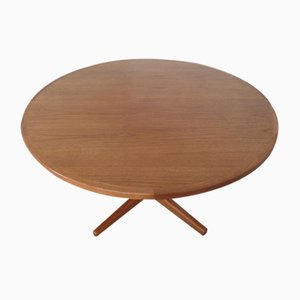 Danish Extendable Teak Dining Table from Glostrup, 1960s