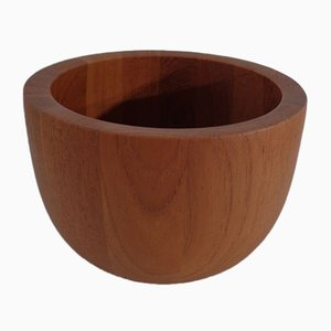 Mid-Century Teak Bowl by Richard Nissen for Nissen, 1960s