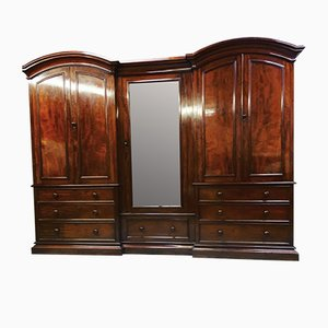 Antique Victorian Mahogany Wardrobe from Lamb of Manchester
