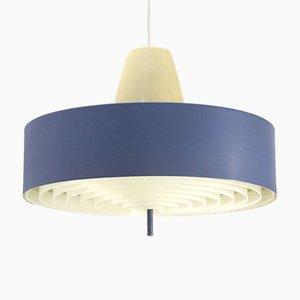 Blue Pendant Lamp, 1950s