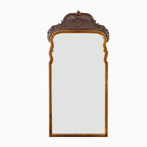 Rococo Style Carved Wooden Mirror, 1930s