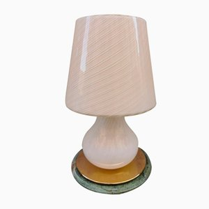 Mid-Century Mushroom Table Lamp Attributed to Paolo Venini, 1950s