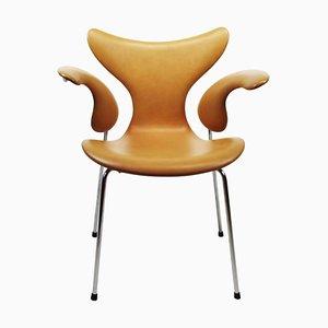 Modell 3208 Lily Armlehnstuhl von Arne Jacobsen für Fritz Hansen, 1970er