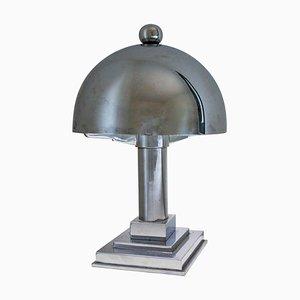 Lampe de Bureau Art Déco en Chrome, 1930s
