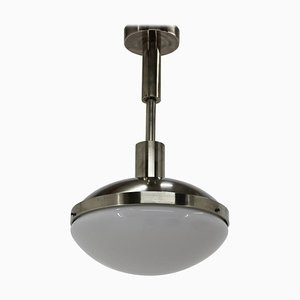 Chrome Bauhaus Pendant Lamp, 1930s