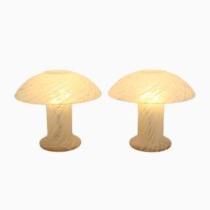 Pilzförmige Lampen von Peil & Putzer, 1960er, 2er Set