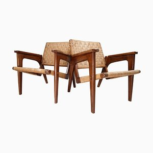 Mid-Century Armchairs by Oskar Riedel, 1960s, Set of 2