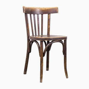 Bentwood Bistro Dining Chairs from Luterma, 1930s, Set of 5